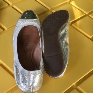 Coach Shoes - Coach flats  size 91/2 gold soft leather